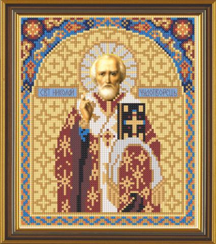 Вышивка крестом Св.Николай